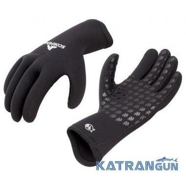 Неопреновые перчатки для подводной охоты Scorpena A 3 мм