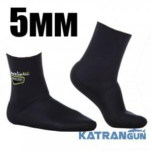 Носки для подводной охоты Marlin Anatomic Nylon Eco 5 мм