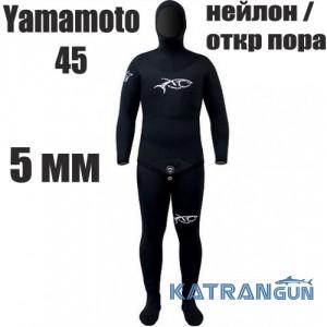 Гидрокостюм подводной охоты 5 мм XT Diving Pro Yamamoto 45; нейлон / открытая пора