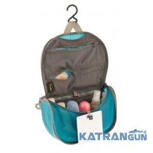 Компактна косметичка Sea To Summit TL Hanging Toiletry Bag (S, Blue / Grey)