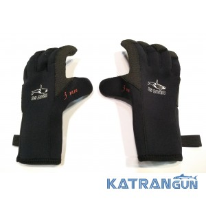 Перчатки для подводной охоты BS Diver Professional Kevlar 3 мм