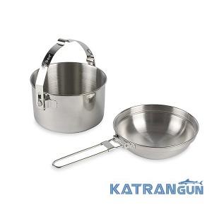 Туристический набор посуды Tatonka Kettle 1.0 l