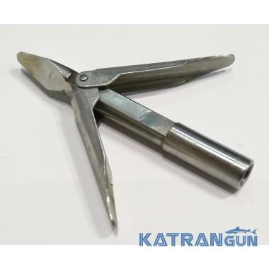 Наконечник для подводной охоты Katrangun Мини; 2 флажка