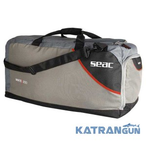 Сумка для снаряжения Seac Sub Mate 200 Hd Bag, Black/Grey