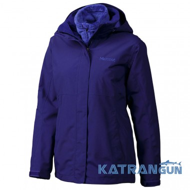 Зимняя мембранная куртка Marmot Women's Cosset Component Jacket, Midnight Purple