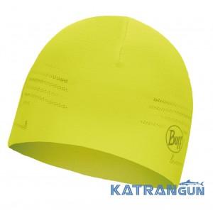 Легкая двухсторонняя шапка Buff Microfiber Reversible Hat R-solid yellow fluor New