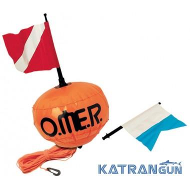Буй для плавания на открытой воде Omer New Sphere
