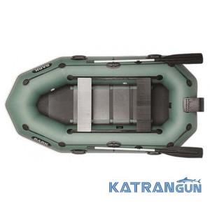 Надувная лодка барк B-260NPD, двигающиеся сиденья
