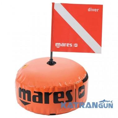 Круглый буй с флажком Mares Hydro Sphere