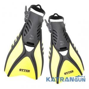 Легкі короткі ласти IST FK31 Otter, жовті
