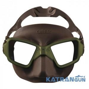 Маска для подводного плавания Omer Zero 3 Olive