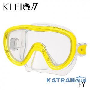 Маска для дайвінгу Tusa Kleio 2 yellow