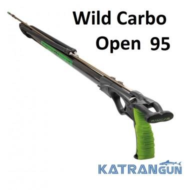 Мощный карбоновый арбалет Salvimar Wild Carbo Open 95