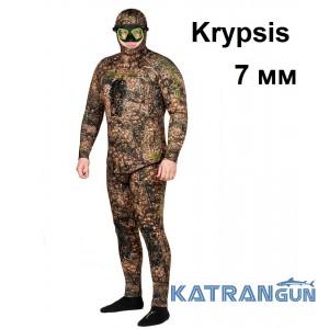 Гідрокостюм з 3D камуфляжем Salvimar Krypsis 7 мм