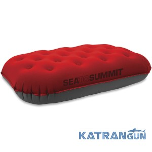 Надувная подушка Sea To Summit Aeros Pillow Ultralight Deluxe, Red