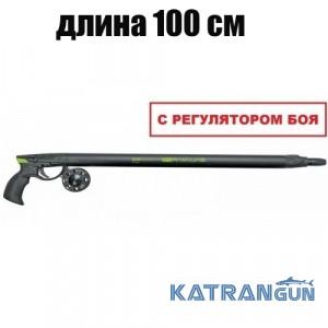 Пневмовакуумное подводное ружьё Salvimar Predathor Vuoto 100 (с регулятором) + катушка