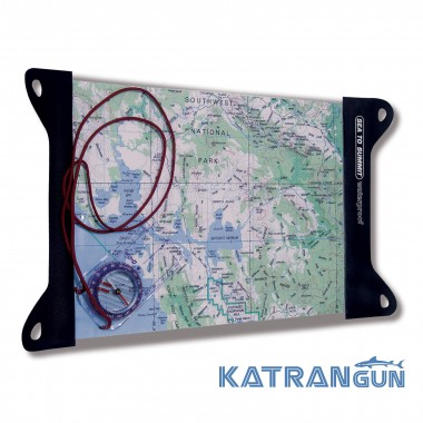 Гермочехол Sea to Summit Guide TPU Map Case Large