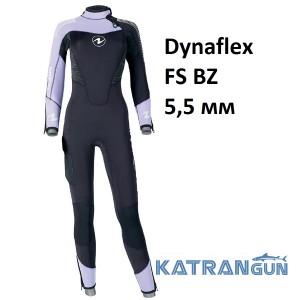 Гідрокостюм жіночий для дайвінгу AquaLung DynaFlex FS BZ 5.5 мм
