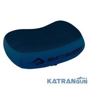 Надувная подушка премиум класса Sea To Summit Aeros Premium Pillow Regular Navy