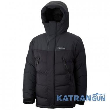 Экстремально тёплый пуховик Marmot 8000M Parka, Black