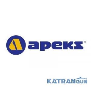 Шланг с быстроразъемным соединением Apeks C-JEN, 74 см (желтый)