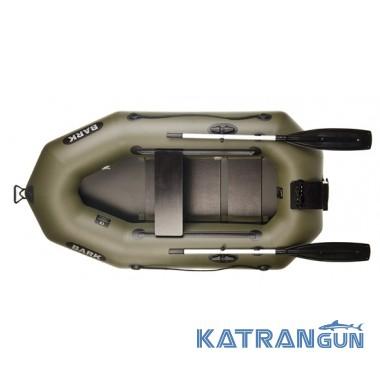 Човен надувний з навісним транцем Bark B-210N