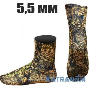 Неопренові шкарпетки для підводного полювання Salvimar Krypsis 5.5 мм