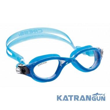 Очки для плавания в бассейне Cressi Sub Flash blue