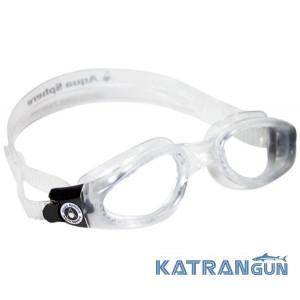 Очки для плавания подростковые Aqua Sphere Kaiman small; прозрачные