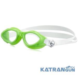 Детские очки для бассейна Cressi Sub King Crab; lime