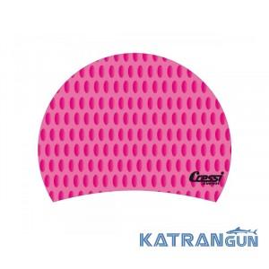 Женская шапочка для бассейна Cressi Sub Lady Cap pink