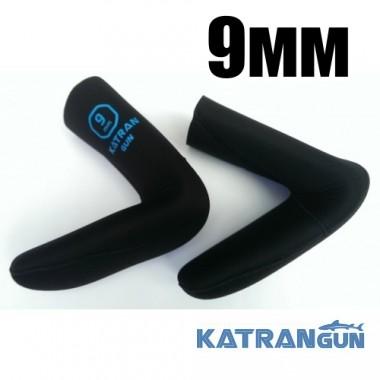 Шкарпетки підводного полювання KatranGun Hunter Pro Anatomic Duratex 9 мм; нейлон / відкрита пора