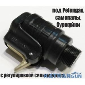 Магнитный линесброс под Pelengas, самопалы, буржуйки; с регулировкой силы магнита (производитель Pelengas)