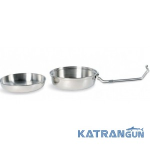 Набор посуды Tatonka Scout Set 0,6L Silver