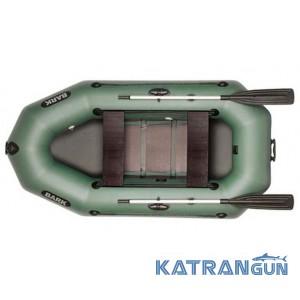 Човен навісний транець Bark B-250D, рухомі сидіння