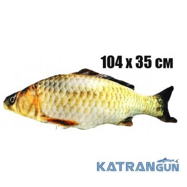 Подушка-игрушка 3KFish Карп (104х35 см)