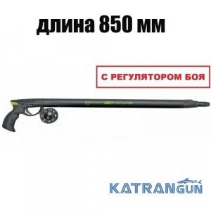 Пневмовакуумное подводное ружьё Salvimar Predathor Vuoto 85 (с регулятором) + катушка