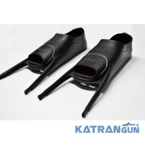 Калоши Leaderfins Forza; черные (пара)