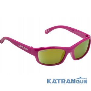 Детские солнцезащитные очки Cressi Sub Yogi; розовые