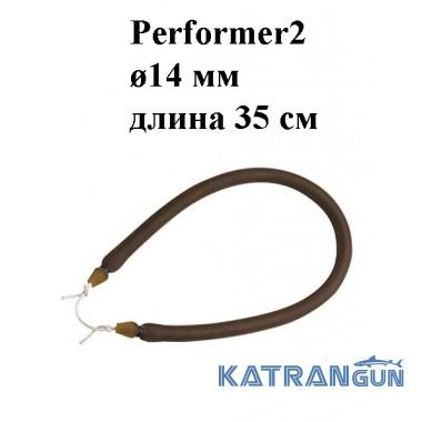 Тяга для арбалета Omer Performer2 ø14 мм 35 см; зацеп Dyneema