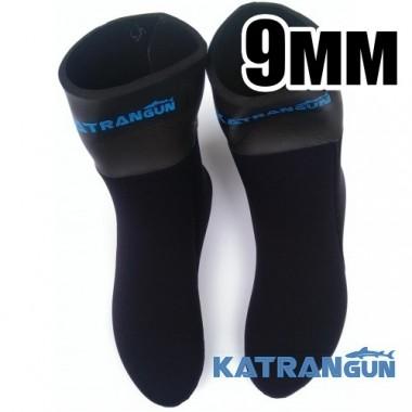 Носки подводной охоты KatranGun Hunter Pro Anatomic WaterLock 9 мм