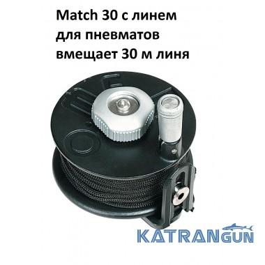 Катушка для пневматического подводного ружья Omer Match 30; с линем