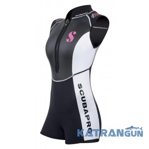Женский гидрокостюм для дайвинга Scubapro Hybrid Shorty Lady 2mm