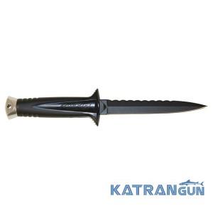Ніж підводного мисливця Beuchat Mundial Dagger 2 Black