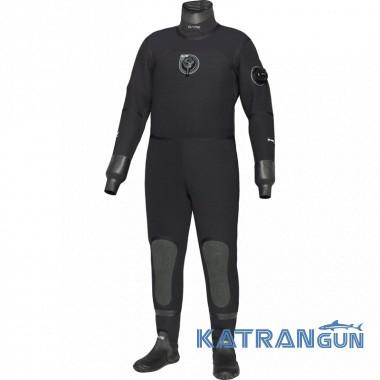 Сухой гидрокостюм Bare D6 Pro Dry черный