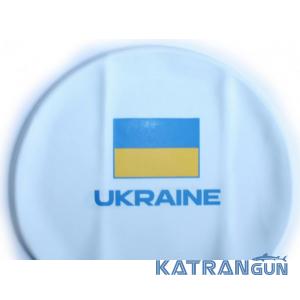 Шапочки для плавания с флагом Украины Head Cap Flat Ukrainan Federation