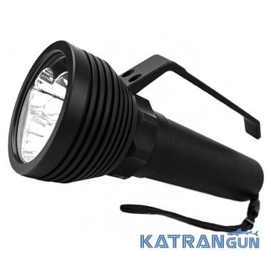 Подводные фонари для охоты Ferei W168 Shark (10000 Lm, холодный свет)