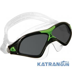 Очки женские для плавания Aqua Sphere Seal XP 2 LADY, темные линзы