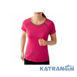 Зональное термобелье Smartwool Women's PhD Ultra Light Short Sleeve
