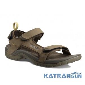 Кожаные мужские сандалии TEVA Tanza Leather